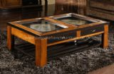 Glamour Glass Top Coffee Table